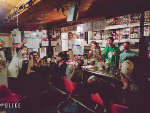 愛知県名古屋栄のb級スポット、パワースポット。おもしろい変わった居酒屋、飲み屋コンセプトバー!